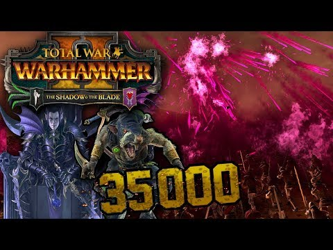 The Largest Shadow & The Blade Battle - Total War: WARHAMMER 2 |