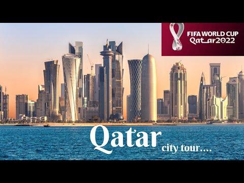 Tour of Doha Qatar I Doha Qatar 4K. Sights - CC #world360qatar