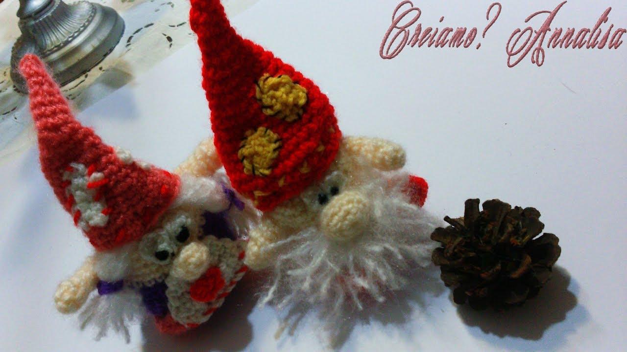 folletto gnomo Amigurumi tutorial-schema/How to crochet elf ... | 720x1280
