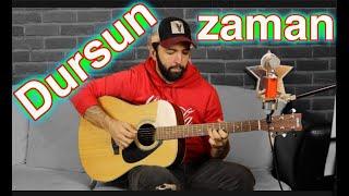 MaNga Dursun Zaman Orijinal ve KOLAY Akor Nasıl Çalınır Gitar Dersi