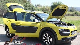 Prueba Citroën Cactus, test drive Cactus manejo del nuevo auto de Citroen