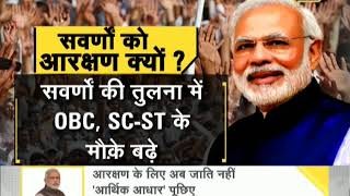 DNA: Cabinet approves 10% reservation for economically backward in general category thumbnail