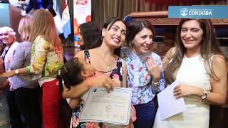 Mujeres víctimas de violencia recibieron microcréditos y certificados