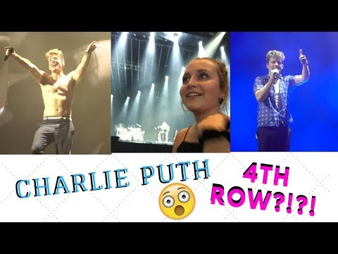 CHARLIE PUTH & HAILEE STEINFELD VOICENOTES || 4TH ROW @BB&T PAVILION IN CAMDEN, NJ