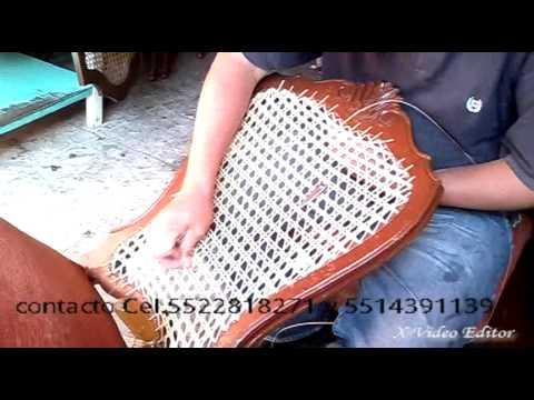 Reparaci n de silla bejuco youtube - Como tapizar un sillon ...