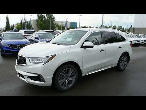 2017 Acura MDX SH-AWD Elite Walk Around Review | West Side Acura in Edmonton Alberta