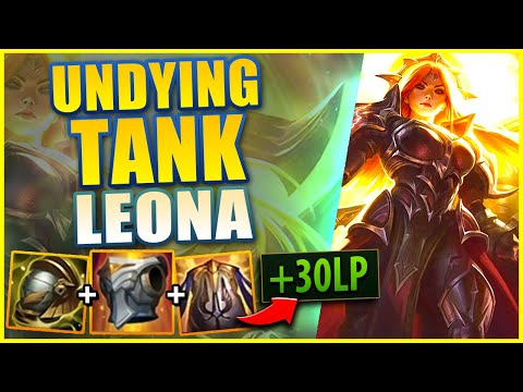 LEONA IS THE TANKIEST SUPPORT (MAXIMUM ARMOR BUILD) – League of Legends