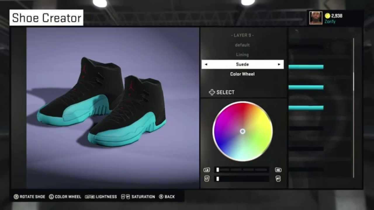 cea7349c2179 NBA 2K15 Shoe Creator - Air Jordan 12