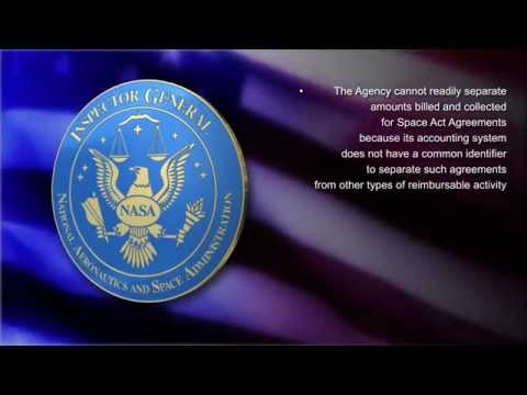 NASA's Use of Space Act Agreements -- June 2014