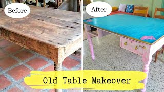 DIY Easy steps to convert Old Table into New | How to Repaint your Old Furniture | DIY Home Decor