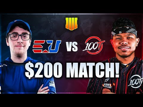 Black Ops 4: eUnited vs 100 Thieves - BO4 PRO WAGER