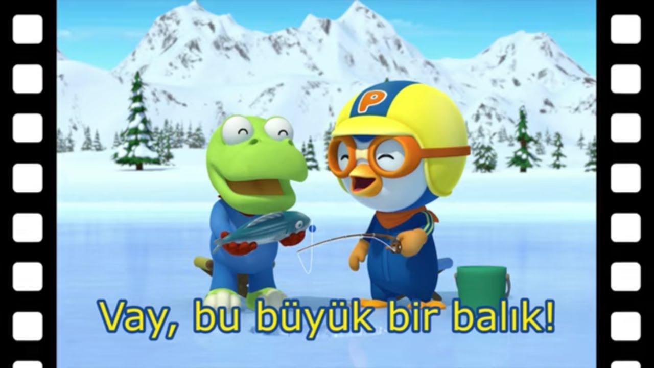 Pororo türkçe | Vay, bu büyük bir balık! | Kısa film animasyon | Pororo turkish