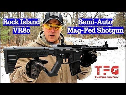 Rock Island VR80 Shotgun - New for 2019 - TheFireArmGuy