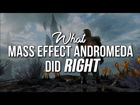 What Mass Effect Andromeda Did Right