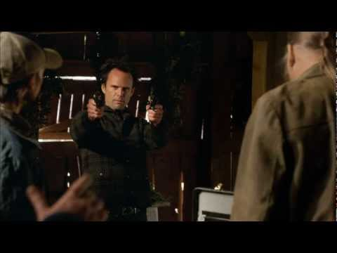 Elmore Leonard and Graham Yost Discuss Raylan and Justified