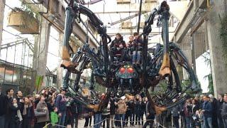 Réouverture des Machines de L Île et première apparition de l'araignée