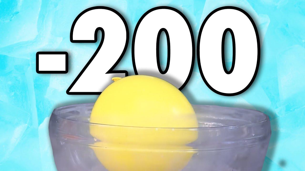 Sv Nitrojenle Balonlar Dondurduk 200 Derece