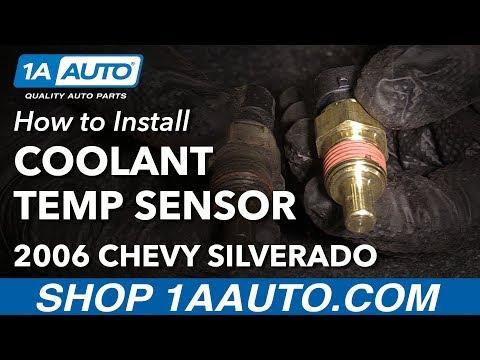 How to Replace Coolant Temperature Sensor 02-06 Chevy Silverado 1500 V6 4.3L