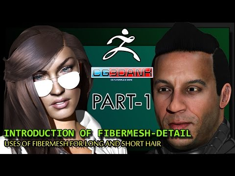 ZBRUSH FIBERMESH TUTORIAL_PART-1(INTRODUCTION & SHORT HAIR)