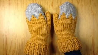 How to Loom Knit a Pair of Gloves / Mittens (DIY Tutorial)