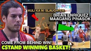 Christian Standhardinger winning basket | Greg Slaughter 16-14 | Ginebra vs Northport 2021