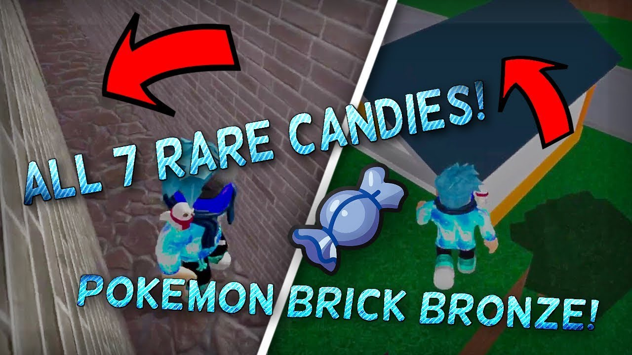 Roblox Brick Bronze Codes All 7 Rare Candy Locations In Pokemon Brick Bronze Pokemon Brick Bronze Tutorial Zfrozt By