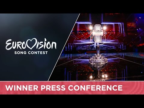 Eurovision Song Contest 2016 - Winner's Press Conference