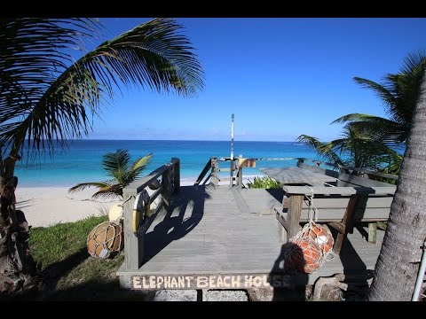 Elephant Beach House - Vacation Rental - Rustic & Secluded on the Beach in Great Guana Cay