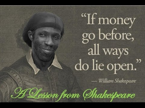 LESSON FROM SHAKESPEARE