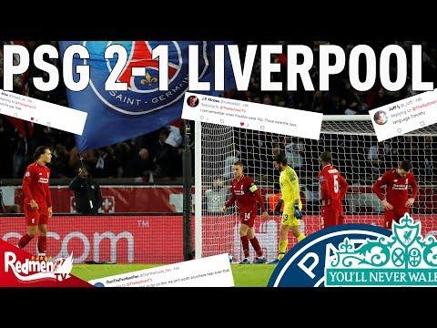 PSG v Liverpool 2-1 | #LFC Fan Reaction