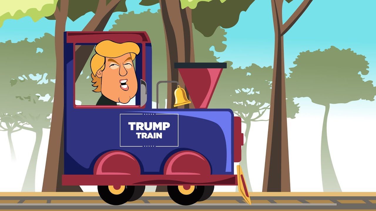 Trump Train Plunges Off The Tracks Youtube