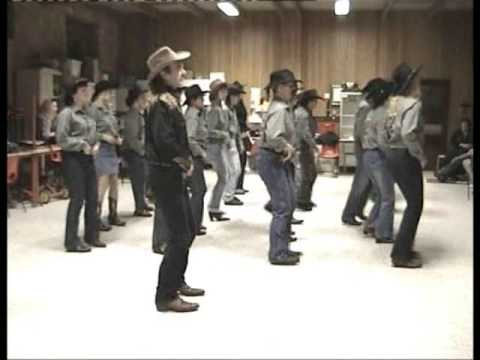 Country Line Dance - Louisiana Saturday Night