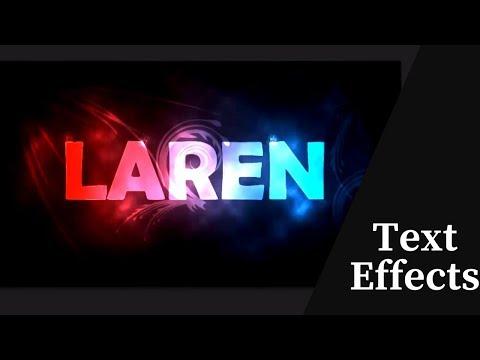 Text Effects , effect Photoshop cs6 tutorials - YouTube
