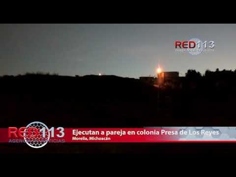 VIDEO Ejecutan a pareja en colonia Presa de Los Reyes
