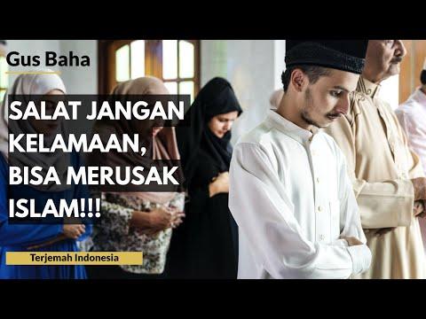 Gus Baha: Salat Jangan Kelamaan, Bisa Merusak Islam! | Terjemah Indonesia
