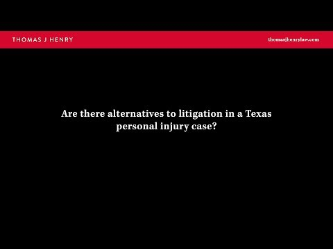 are-there-alternatives-to-litigation-in-a-texas-personal-injury-case?