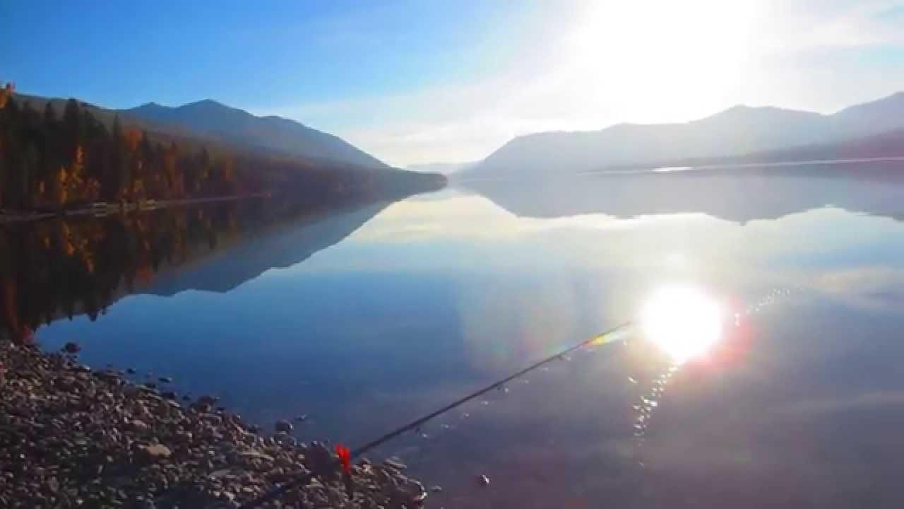Lake Mcdonald Fishing Mt Youtube