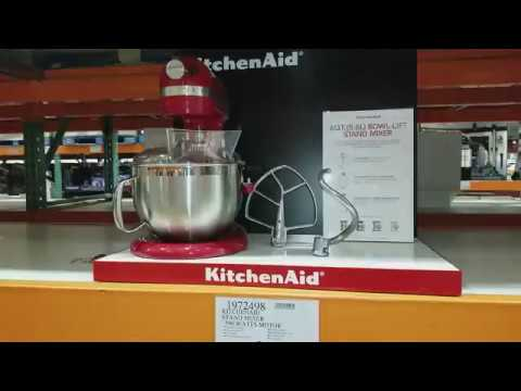 costco kitchen aid roll away island kitchenaid stand mixer from youtube