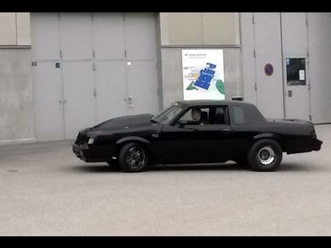 Blacklist Street Race Buick Grand National on the Street