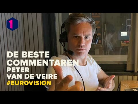 De beste commentaren van Peter Van de Veire tijdens Eurovision: Europe shine a light