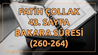Fatih Çollak - 43.Sayfa - Bakara Suresi (260-264)