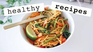 Easy & Healthy Vegan Meal Ideas | lunch & dinner