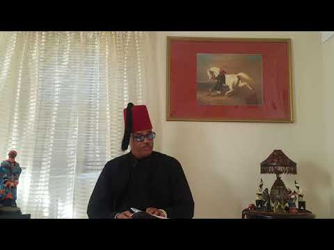 Moorish Leader's Holy Message during Moorish Holy Month 2018