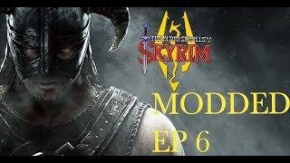 Skyrim (Modded) (No Fast travel) Ep 6