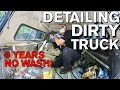 Detailing Dirty Truck Interior after 9 Years! Chevrolet Silverado