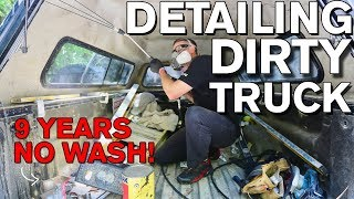 Detailing Dirty Truck Interior after 9 Years!