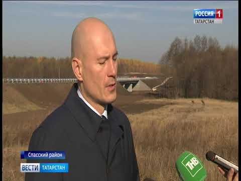 В Спасском районе сдали мост через реку Сушка усела Вожи
