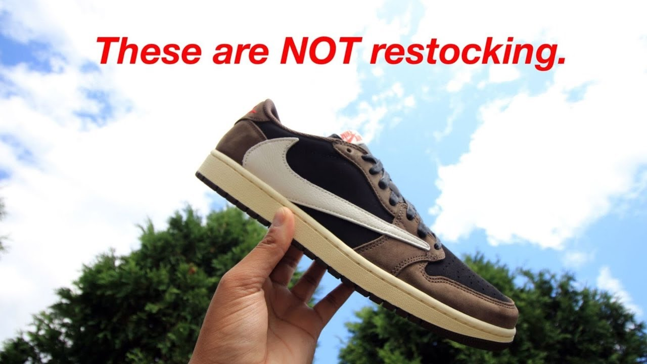 Hype Not 1 Scott PredictionWorth Air Low Travis Are RestockingreviewResell The Jordan uTlF1c3KJ