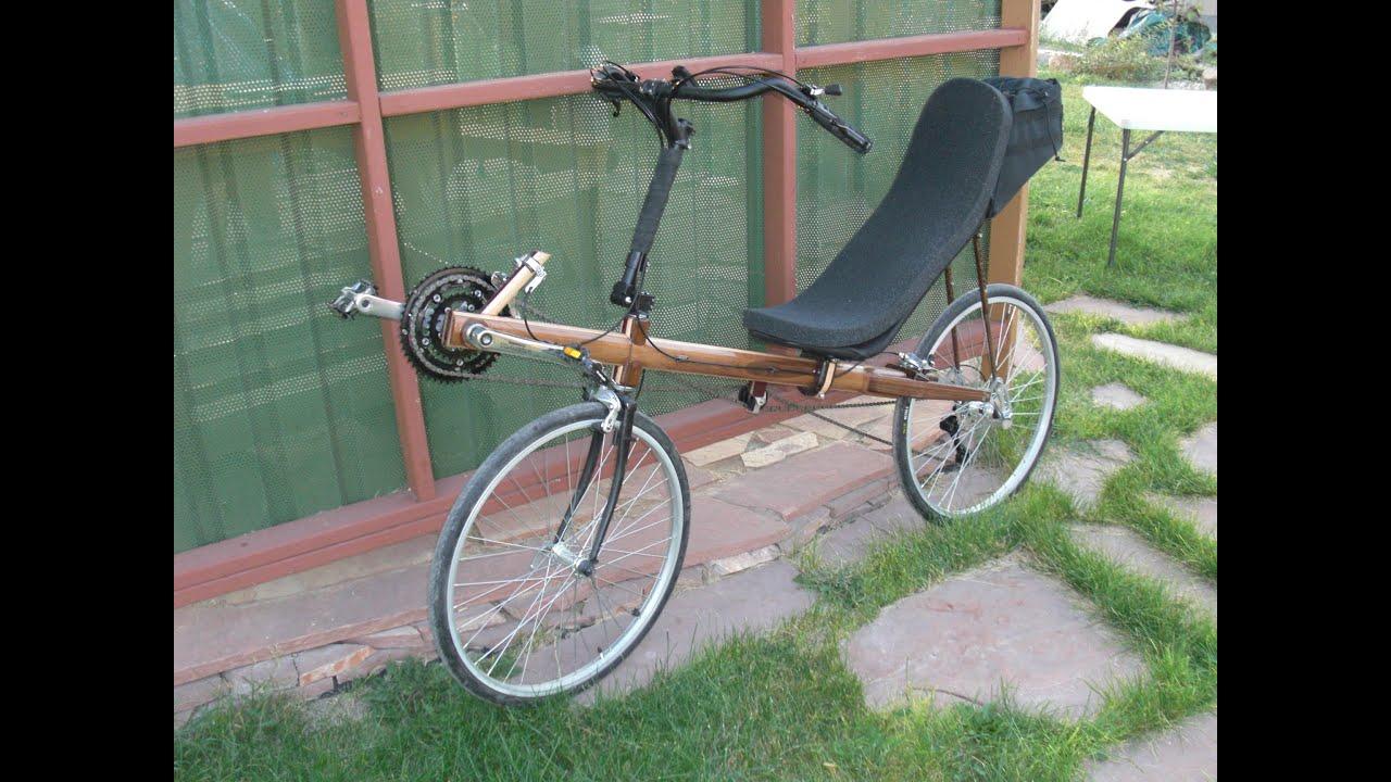 Wood Recumbent Bike Build Using Aspire And A Camaster C N C Youtube