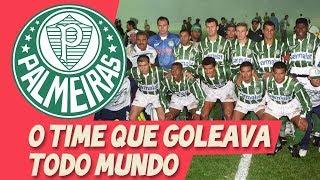 Eles GOLEAVAM TODO MUNDO - Palmeiras 1996 - POR QUE ACABOU TÃO RÁPIDO?